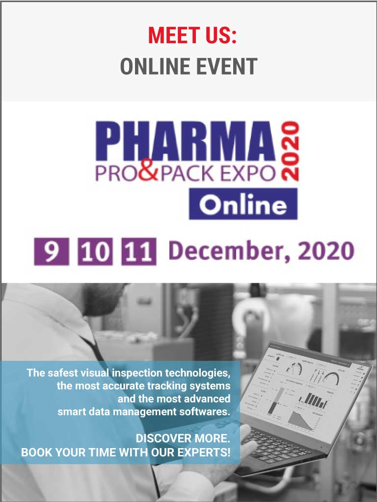 Antares Vision at Pharma Pro&Pack Expo 2020 online