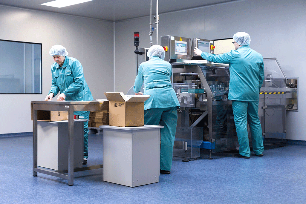 Pharmaceutical production efficiency