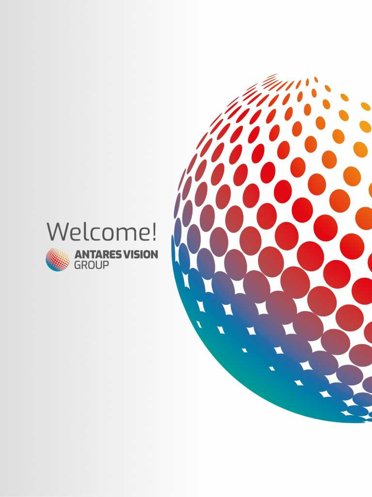 Welcome Antares Vision Group
