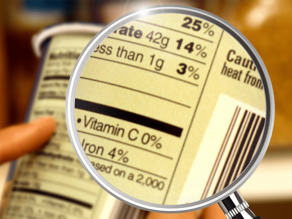 check and verify labels